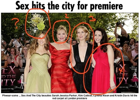Sex and The City Movie Premiere