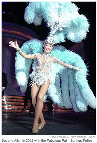 Beverly Allen, dancing in her 80's.